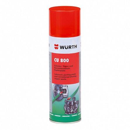 Spray protectiv pe baza de cupru Cu 800 Wurth, 300 ml