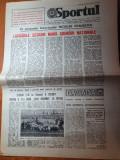 Sportul 30 iunie 1989-steaua a cucerit cupa romaniei la fotbal cu dinamo 1-0