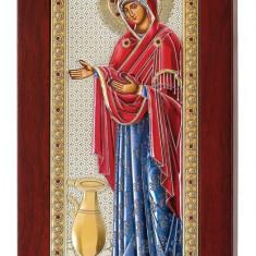 Icoana Sporul Casei,Argintata, Color, 29.5x14cm Cod Produs 1176