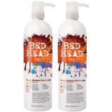 Set Bed Head Colour Goddess Shampoo 750ml + Conditioner 750ml, Tigi