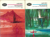 Valmiki - RAMAYANA / 2 volume / BPT 464, 465/ repovestita de C. Rajagopalachari