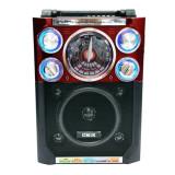 Radio portabil CMiK MK-918, 1200 mAh, microfon inclus