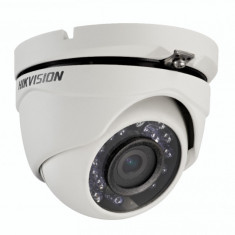 Camera de supraveghere 1 MP dome IR TURBO HD, TVI, HDCVI, AHD, HD Ready 720P, 25 fps,DS-2CE56C0T-IRMF