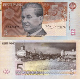 ESTONIA 5 krooni 1994 UNC!!!