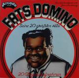 Vinil    Fats Domino – 20 Greatest Hits    (VG++)