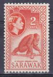 Sarawak 1955-1957