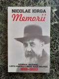 Memorii 1918-1920 – Nicolae Iorga