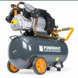 Compresor Aer Comprimat 50L 2 Pistoane POWERMAT