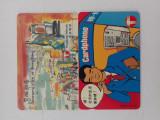 = LOT 147 - HONG KONG - 2 CARTELE TELEFONICE DIFERITE =