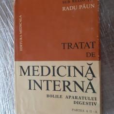 TRATAT DE MEDICINA -BOLILE APARATULUI DIGESTIV PARTEA 2,  Radu Paun