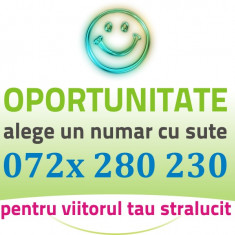 Numar Sute - 072x.280.230 - Numere AUR Vip Cartela gold usor speciale cartele