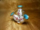 Mini vaza majolica Italia, colectie, vintage