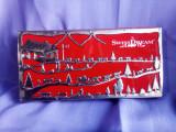 Cutie metal de ciocolată Elveția, este fără conținut