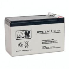 Acumulator stationar 12V 7A MWS
