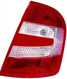 Cumpara ieftin Stop tripla lampa spate dreapta (semnalizator alb, culoare sticla: rosu) SKODA FABIA HATCHBACK 2004-2008
