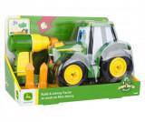 Masina de jucarie Build A Johnny Tractor - John Deere, Multicolor