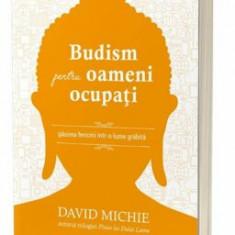 Budism pentru oameni ocupati/David Michie