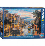 Cumpara ieftin Puzzle Eurographics - Eugeny Lushpin: San Francisco, Cable Car Heaven, 1000 piese
