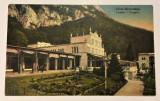 Herculane, Casino, carte postala color, mai 1930, Circulata, Printata