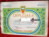 Diploma DACIADA, antrenor fotbal, RSR,