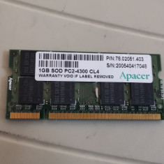 Ram Laptop Apacher 1GB DDR2 PC2-4300