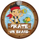 Semn de avertizare Pirate on Board Jake Disney Eurasia 25033Initiala