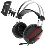 Cumpara ieftin Casti Gaming Gamdias HEBE E1 RGB, USB, iluminare LED RGB
