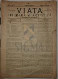 ILARIE CHENDI ( secretar de redactie ) - VIATA LITERARA SI ARTISTICA, AN. 1 ( 50 numere ) , desene ISER, 1907