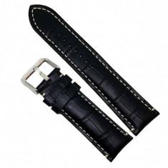 Curea ceas din piele naturala - 24mm - C2960