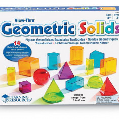 Forme geometrice colorate PlayLearn Toys, Learning Resources