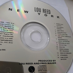 LOU REED - NEW YORK  -   CD