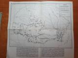 Harta continuitatea vietii romane pe teritoriul fostei provincii dacia -anii '70