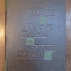 DICTIONAR DE CHIMIE-GRIGORE BALANESCU