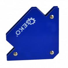 Pachet 6 bucăți – Magnet sudură în unghi 45°-90°-135°, forță 11.5 kg