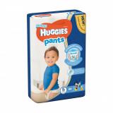 Scutece Huggies Mega Pants Boys, Nr 5, 12 - 17 Kg, 44 buc