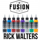 Set Fusion Gama Rick Walters 8 tusuri 30 ml