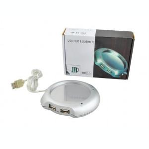Hub USB cu incalzitor cana