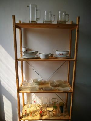 Sticlarie veche. Pahare, Halbe sticla vechi. Obiecte,farfurioare,vesela,etc. foto