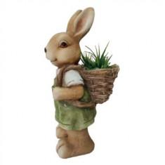 Ghiveci decorativ Strend Pro Gecco 8053, ceramica, 22 x 18.5 x 46 cm