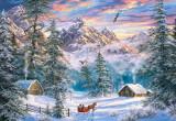 Puzzle Castorland 1000 Mountain Christmas