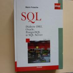 SQL-Dialecte DB2, Oracle, PostgreSQL si SQL Server- Marin Fotache