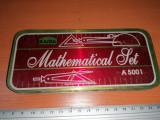 Cumpara ieftin LOT CUTIE TABLA VINTAGE MATHEMATICAL SET
