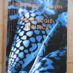 Sociologie Juridica - Doru Silviu Luminosu Vasile Popa ,532030