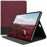 Husa pentru Apple iPad Pro 12.9 (2018), Textil, Rosu, 46770.04
