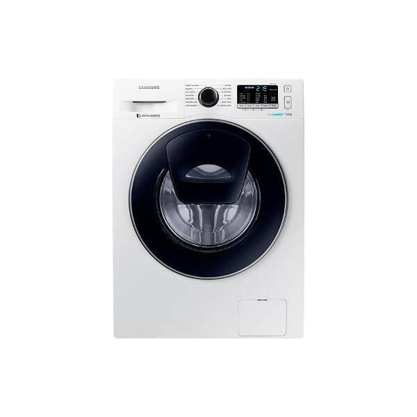 Resigilat: Masina de spalat Samsung WW80K5410UW, AddWash, EcoBubble, Smart Control, A+++, 1400 Rpm, 8kg, alb