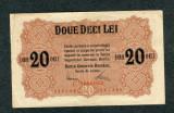 Romania 20 lei 1917  VF