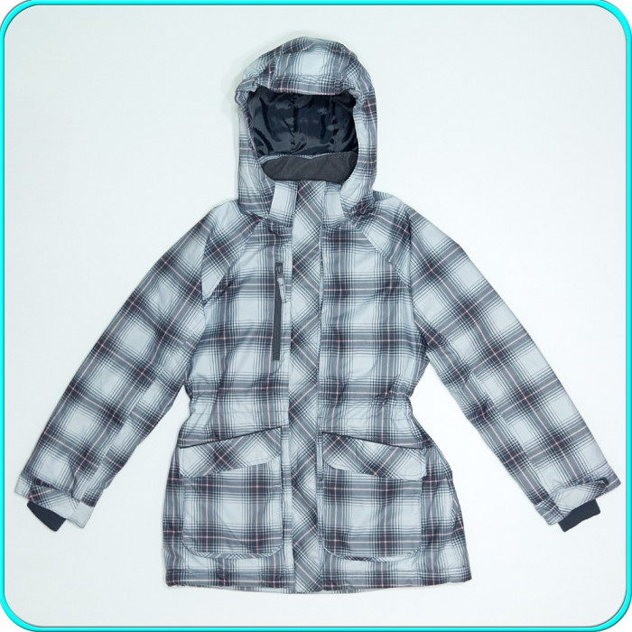Geaca iarna, calduroasa, impermeabila, impecabila, H&M→ fete  11—12 ani   152 cm
