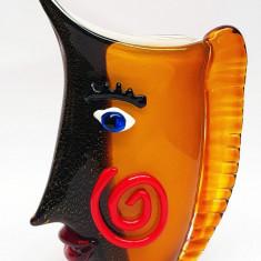 Vaza deosebita din sticla Murano MG74
