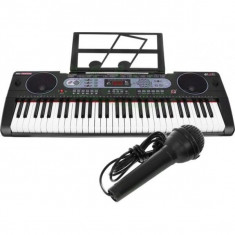 Orga electronica 61 de clape MQ-602UFB cu Bluetooth si USB /MP3