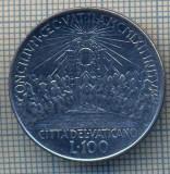 AX 1315 MONEDA - VATICAN -100 LIRE -ANUL 1962/IV -STAREA CARE SE VEDE, Asia